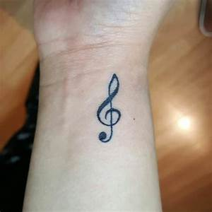 Music Symbols Tattoos On Wrist | www.imgkid.com - The ...