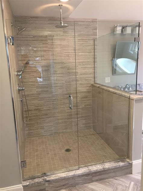 small shower tile glass shower door gallery franklin glass company