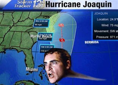 Hurricane Memes - hilarious hurricane joaquin phoenix memes goes viral uinterview
