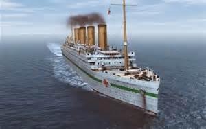 Titanic Sister Ship Britannic