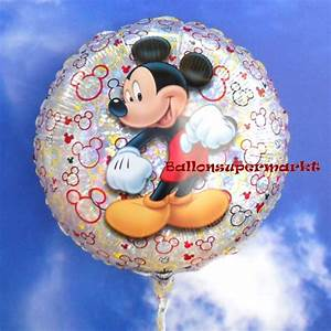 Mickey Mouse Geburtstag : folienballon mickey mouse holografisch folienballon mit ballongas ballonsupermarkt ~ Orissabook.com Haus und Dekorationen