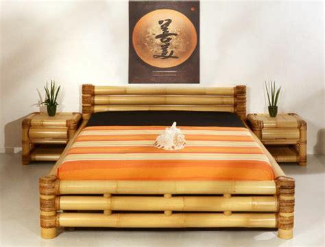 chambre en bambou jolies variantes pas cher pour un meuble en bambou