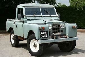 Land Rover Series Ii 2a 88 Pick Up Green 1966