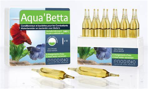 bacterie pour aquarium eau douce prodibio aqua betta 12 oules conditionneur d eau avec bact 233 ries pour aquarium avec poissons