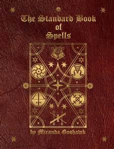 Harry Potter Spell Book Cover Standard