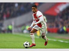 Ajax's Justin Kluivert dismisses Manchester United move