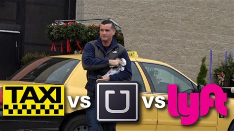 Who's The Cheapest?! Taxi Vs Uber Vs Lyft! Ride Share