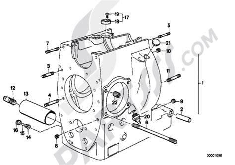 engine housing mounting parts bmw r100r r100r 2473
