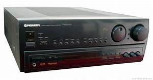 Pioneer Vsx-d633s - Manual
