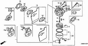Honda Gcv160 Carburetor Diagram