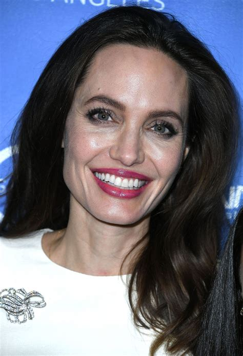 ANGELINA JOLIE at The Breadwinner US Premiere in Hollywood ...