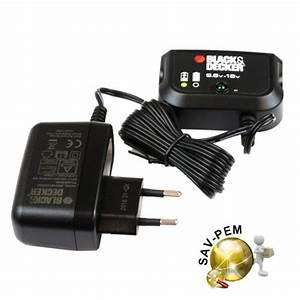 Batterie Black Et Decker 18v : chargeur black et decker 18v sav pem ~ Dailycaller-alerts.com Idées de Décoration
