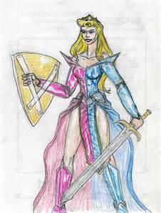 Anime Warrior Princess Drawing