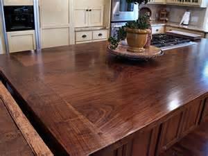 wood tops for kitchen islands slab walnut wood countertop photo gallery by devos custom woodworking