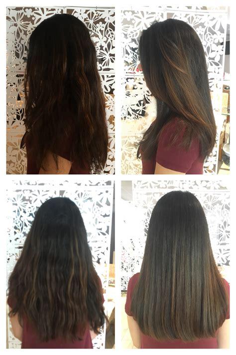 shoulder  length haircut  layers