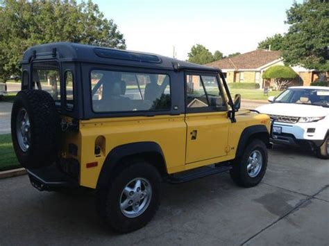 security system 1994 land rover defender 90 engine control sell used 1994 land rover defender 90 base sport utility 2 door 3 9l in pa texas united