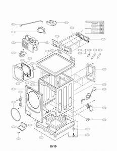 Lg Front Load Washer Parts Diagram