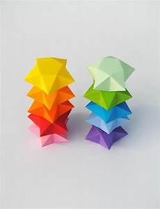 Comment Faire Une étoile En Papier : 49 id es en photos comment cr er un pliage origami facile ~ Nature-et-papiers.com Idées de Décoration