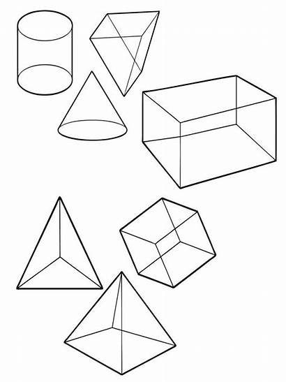 Shapes Coloring Pages Educational Printable