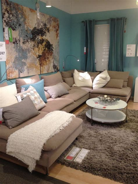 Wohn Schlafzimmer Ikea by Ikea Living Room Creams Minks And Mellow Accents