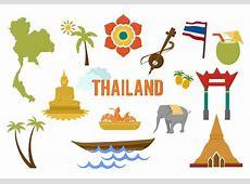 Elementos del vector gratuito Tailandia Descargue