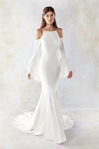 long sleeve eddy k bridal gowns designer wedding With designer long sleeve wedding dresses