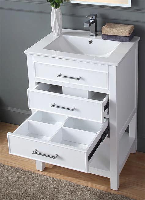 adelina contemporary small slim narrow white bathroom