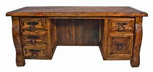 Dallas Designer Furniture Old Wood Rustic Desk