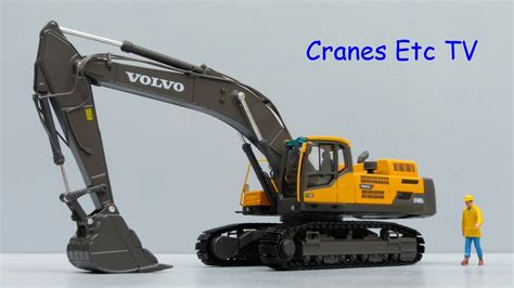 motorart volvo ecd crawler excavator  cranes  tv