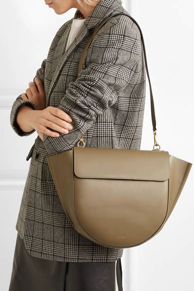 wandler hortensia leather shoulder bag net  portercom