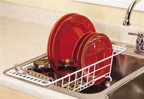 drainer kitchen sink the sink dish drainer drying rack compact kitchen 6913