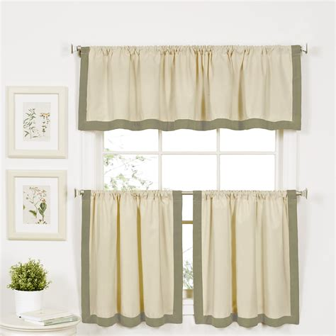 elrene home fashions wilton 60 quot curtain valance reviews