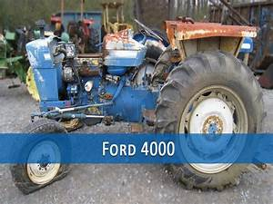 Ford 4000 Tractor Repair Manual