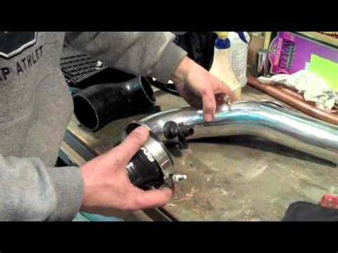volvo turbo intake pipe   xc xc  youtube