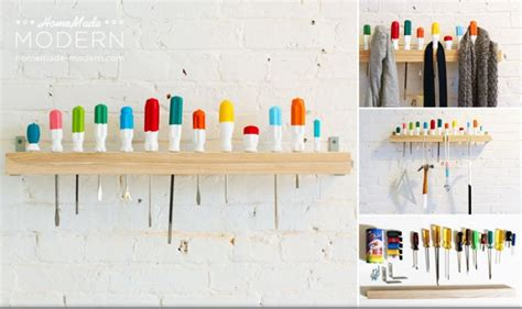 creative wall hooks  diy   home