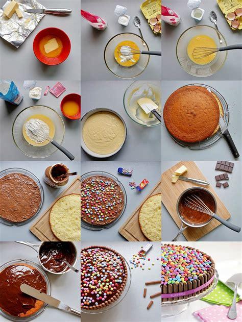 tuto cuisine tuto quot gâteau d 39 anniversaire coloré aux bonbons quot aud 39 à
