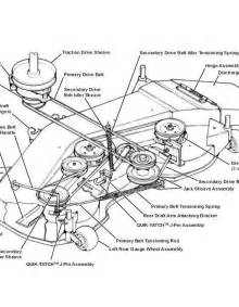 i need a belt diagram for my john deere lx277 riding mower