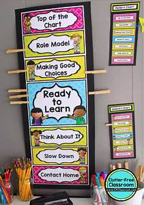 Consequence Chart For Classroom How To Improve Classroom Behavior Using Clip Charts