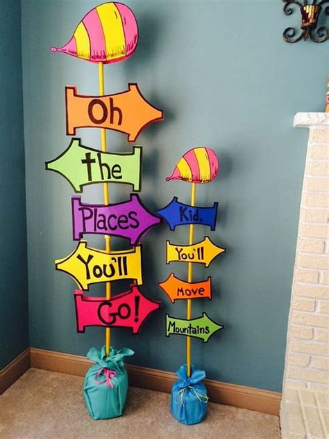Oh The Places You Ll Go Decorations - 50 creative graduration ideas noted list