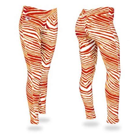 Shorts & pants sweaters & dress shirts sweatshirts & fleece swimsuits. Kansas City Chiefs Zebra Legging | Red/Gold | Zubaz Store