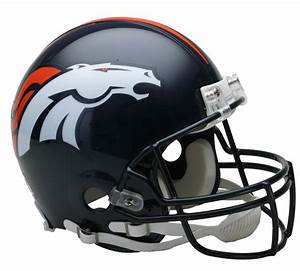 Denver Broncos VSR4 Authentic Helmet