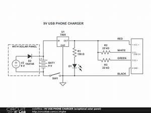 Gatormade Trailer Wiring Diagram : 9v usb phone charger w optional solar panel circuitlab ~ A.2002-acura-tl-radio.info Haus und Dekorationen