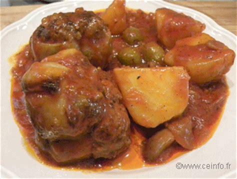 comment cuisiner des paupiettes paupiettes de veau en ragoût recette facile recette à