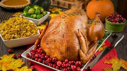 Thanksgiving Dinner Turkey Wallpapers 4k Meal Studio