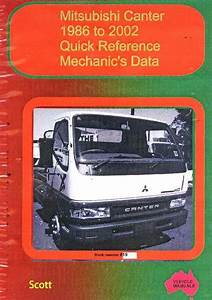 Mitsubishi Canter  Quick Reference Mechanics Data 1986 To 2002 Vm