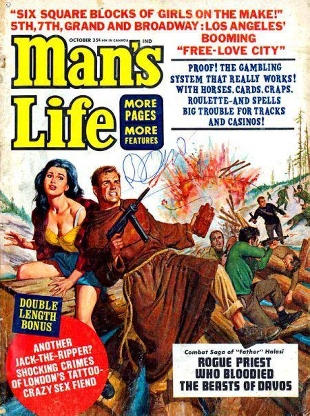 funny cover stories  mans life magazine life