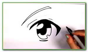 Anime Eyes Easy Drawings for Beginners