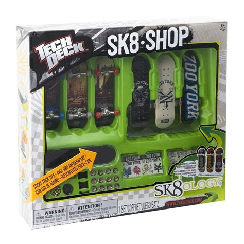 Tech Deck Sk8 Shop Bonus Pack 3 X Finger Board Skateboard