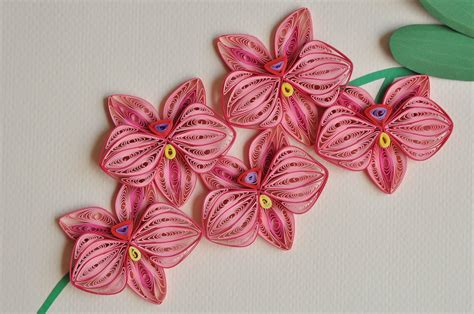 nhipaperquilling 12 paper quilling orchid