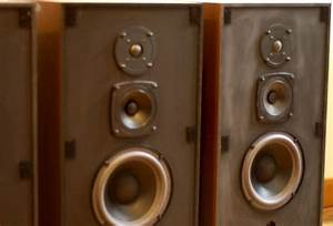Into The Woods  U203a Those Classic Speakers Can Be Repaired